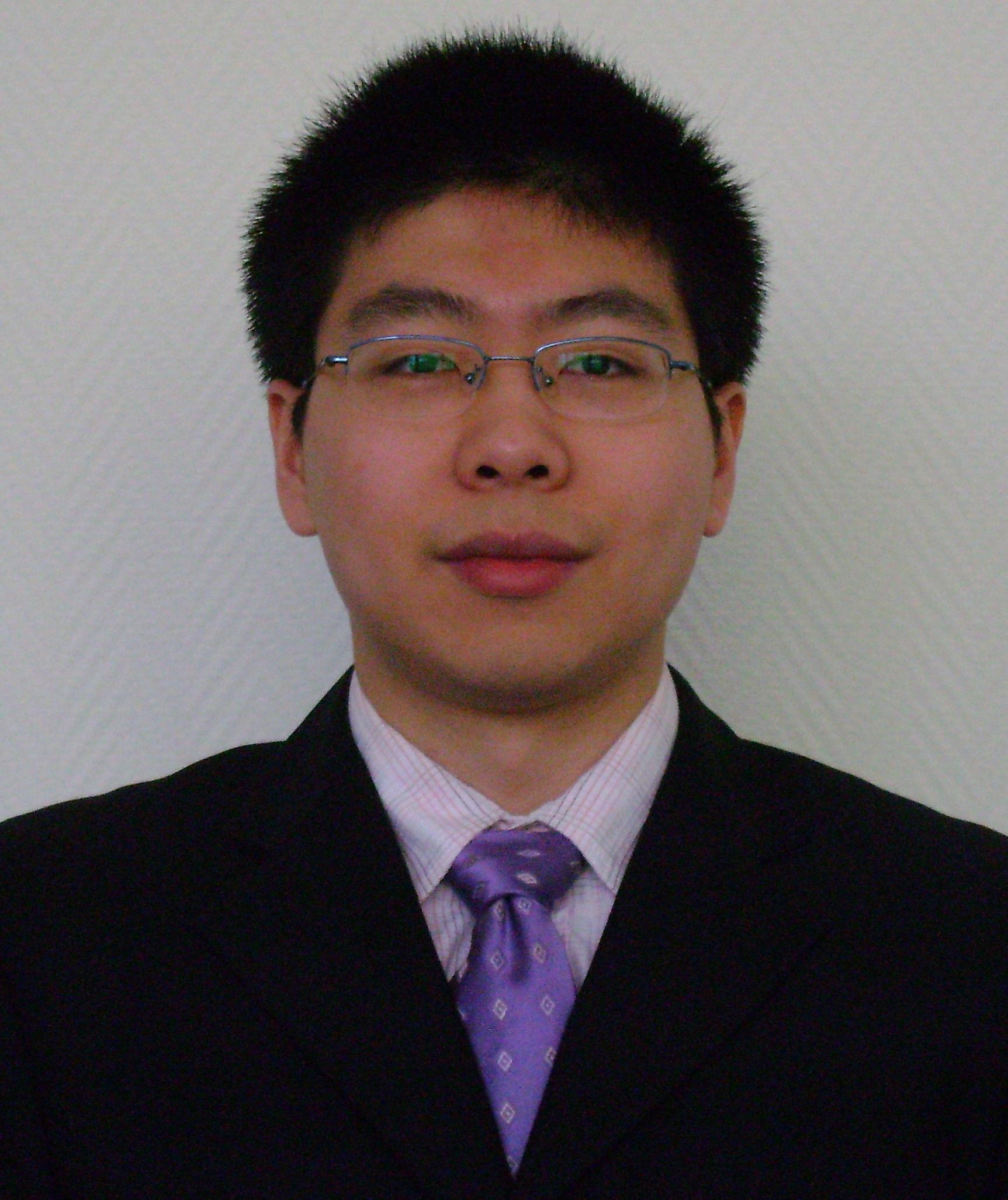 Photo of Chenming Zhang